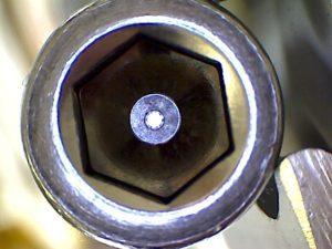 Tieflochbohrung in einem Werkstück aus Metall in Spaichingen